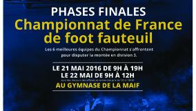 AFFICHE FOOT FAUTEUIL MAI 2016