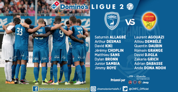 Groupe contre Orleans