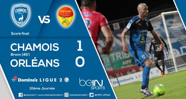 Score final vs Orléans