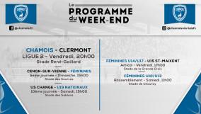 Programme WE 21.10.2016