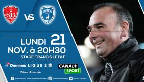 Affiche match a Brest