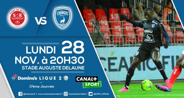 Affiche match a Reims