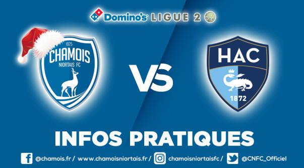 Infos pratiques vs Le Havre