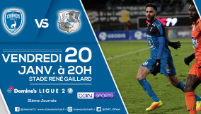Affiche match vs Amiens