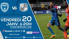 Affiche match vs Amiens