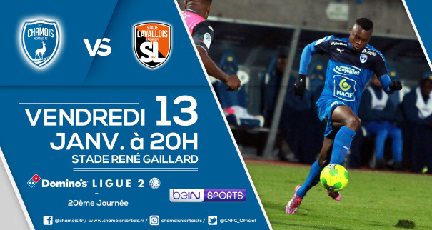Affiche match vs Laval