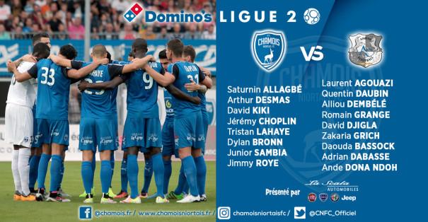 Groupe vs Amiens