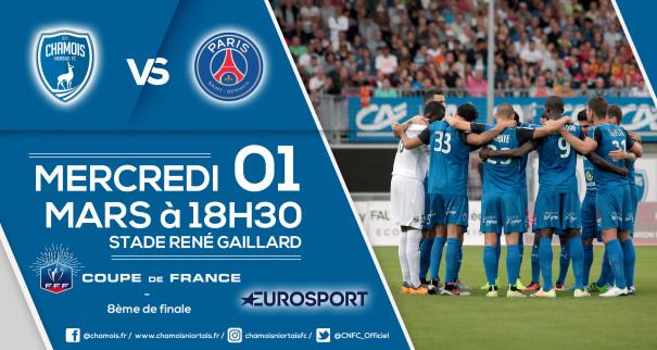 Affiche match vs PSG