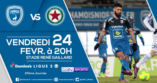 Affiche match vs Red Star