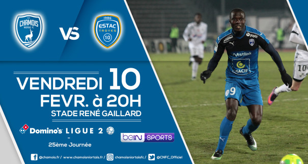 Affiche match vs Troyes