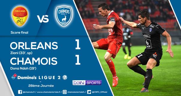Score final vs Orleans