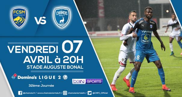 Affiche match a Sochaux