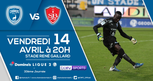 Affiche match vs Brest