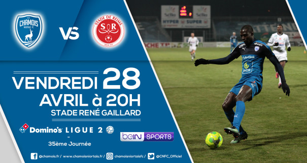 Affiche match vs Reims