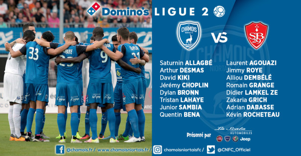 Groupe vs Brest