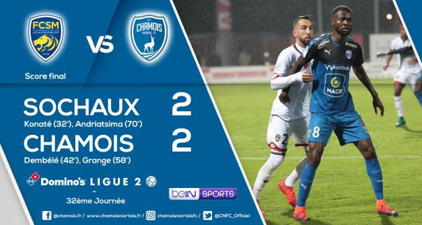Score final a Sochaux