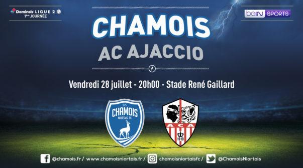 Affiche match vs Ajaccio