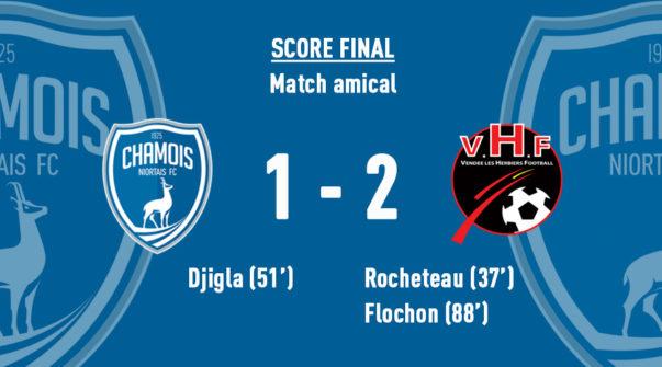 Score final vs Les Herbiers