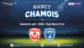 Affiche match à Nancy