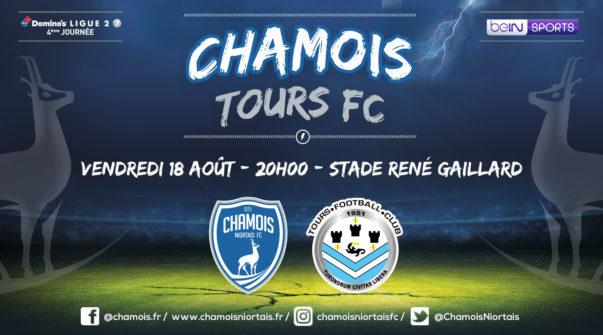 Affiche match vs Tours