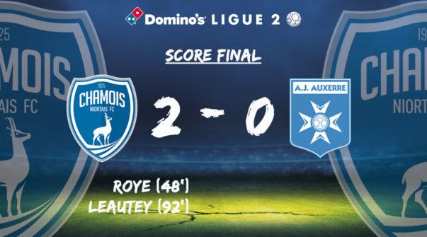 Score final vs AJA