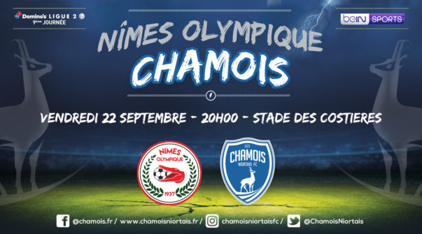 Affiche match à Nîmes