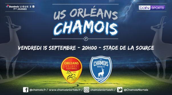 Affiche match à Orléans