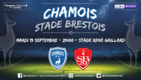 Affiche match à domicile vs Brest