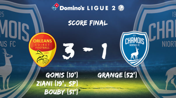 Score final à Orléans