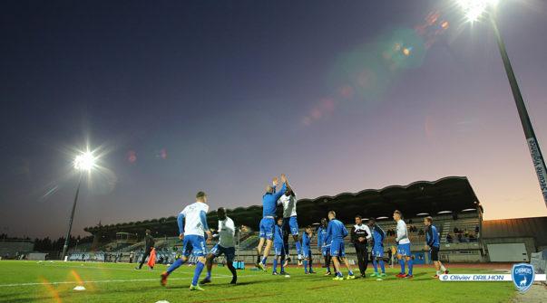 Chamois Niortais vs Bourg en Bresse