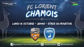Affiche match à l'extérieur à Lorient