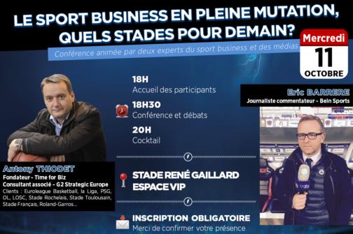 Conférence Sport Business