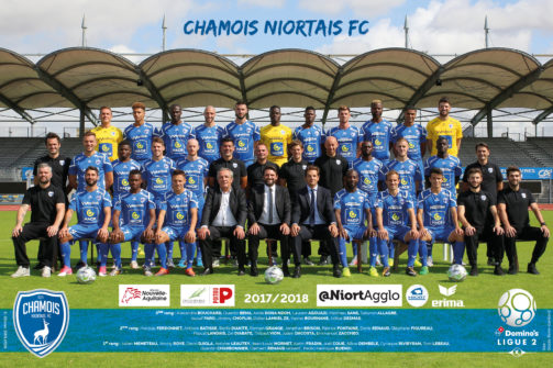 Poster Chamois Niortais 17-18