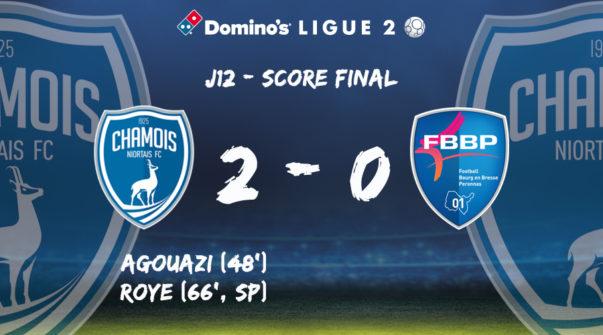 Score à domicile vs Bourg