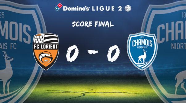 Score final à Lorient