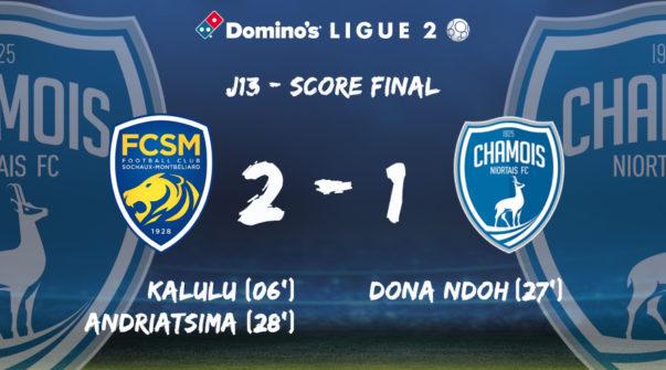 Score final à Sochaux