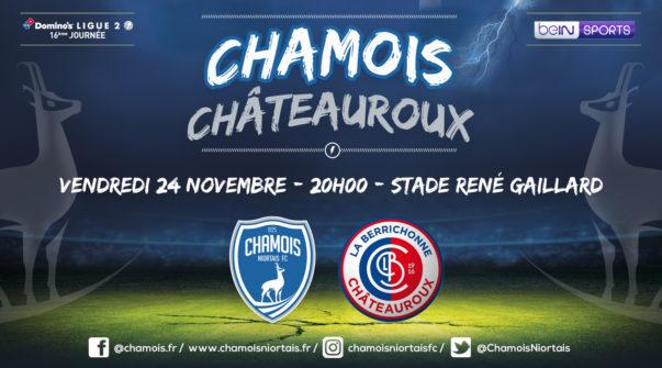 Affiche match vs Châteauroux