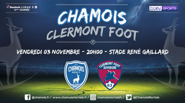 Affiche match vs Clermont