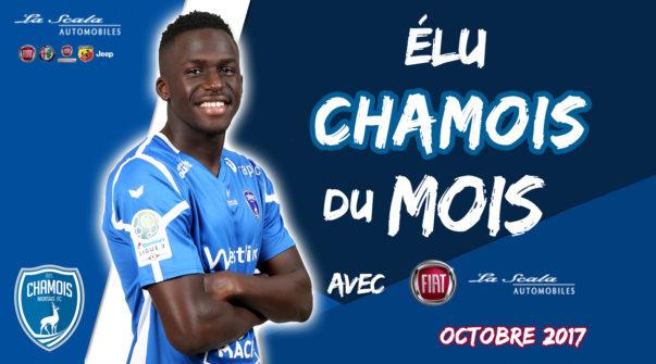 Élu Chamois du mois d'octobre