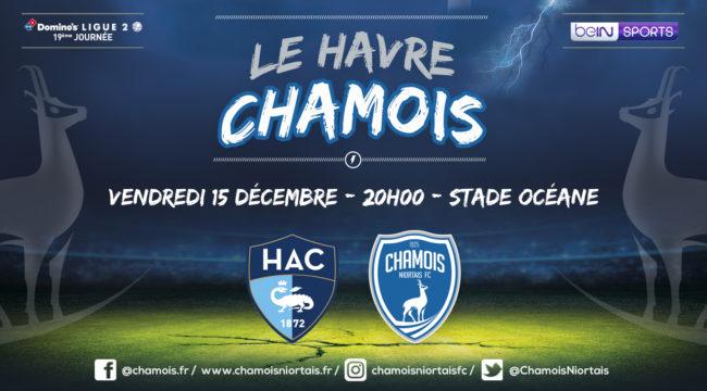 Affiche match au Havre