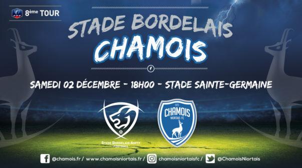 Affiche match au Stade Bordelais