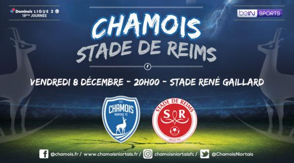 Affiche match vs Reims