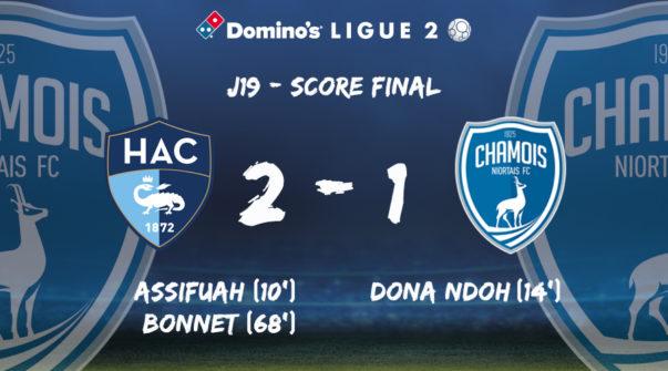 Score final au Havre