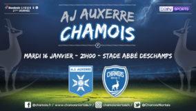 Affiche match à Auxerre
