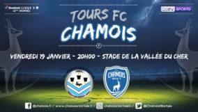 Affiche match à Tours