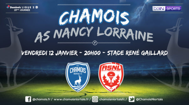Affiche match vs Nancy