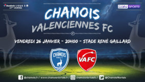 Affiche match vs Valenciennes