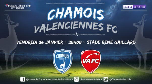 Affiche match vs Valenciennes
