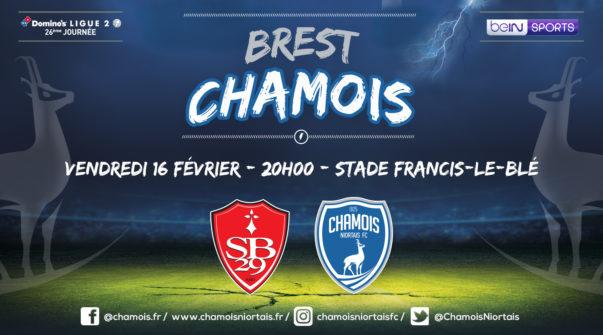 Affiche match à Brest
