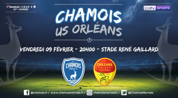 Affiche match vs Orléans
